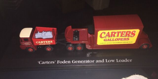 ATLAS EDITIONS CARTERS FODEN GENERATOR & LOW LOADER THE GREATEST SHOW ON EARTH