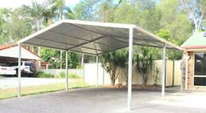 Factory Moving, Brand new Gable roof carport, 6M long x 6M wide x 3.3M Ingleburn Campbelltown Area Preview