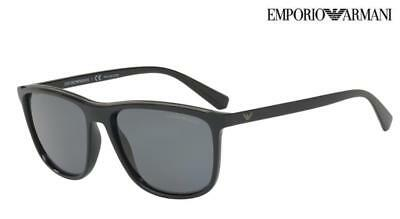 b2dab7c3753 EMPORIO ARMANI Sunglasses EA 4109 (5017 81) Black  Grey Polarised RRP-