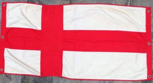 England Nautical Flag FULLY SEWN Vintage Style 152cm x 76cm With 6 Eyelets