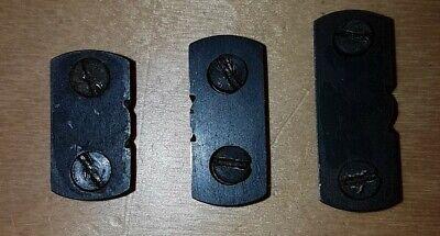 Vintage Set 3 BSA Martini International .22 Target Rifle Sight Stools & Screws comprar usado  Enviando para Brazil