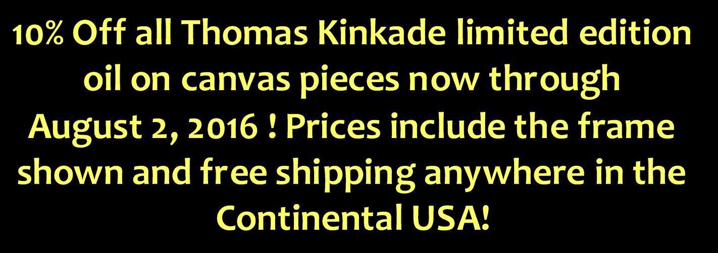 Karen's Kinkade Art Store