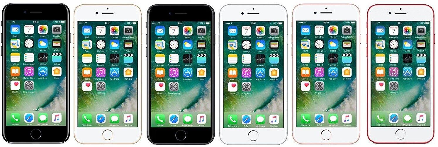 Apple iPhone 7 iOS Smartphone ohne Simlock 4.7 Zoll 32GB mit ausgew MwSt DE Ware