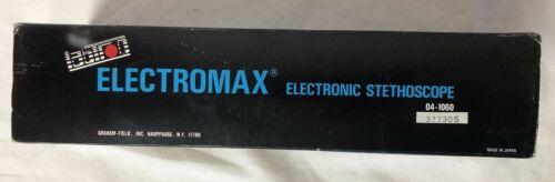 Labtron Electromax Electronic Stethoscope Professional #04-1060 New Battery