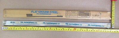 O1 Tool Steel Sheet 732 X 34 X 18 Simonds Flat Ground Steel Oil Hardening