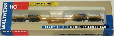 Walthers Goldline Ttx 81   4 Truck Depressed Center Flat Car  New Old Stock Ho