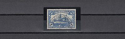 Kiautschou 1 Dollar Yacht 1906 Plattenfehler Michel 35 I A I Attest (S11350)