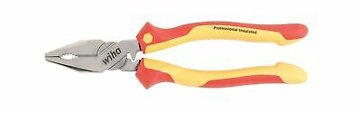 Wiha 32821 9-inch Insulated 5 In 1 Linemans Pliers