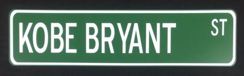 "Kobe Bryant 24"" x 6"" Aluminum Street Sign Los Angeles Lakers"