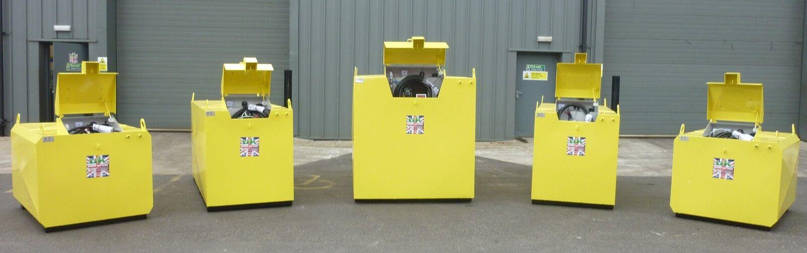 UK Bunded Fuel Tanks