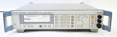 Rohde Schwarz Sml03 9khz To 3.3ghz Signal Generator 1090.3000.13 Opt B1 B3