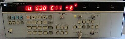 Hp Agilent 5335a 200 Mhz Universal Counter W Manual Nist Calibrated