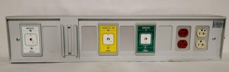 Amico Wall-Mounted Console Medical Mirage Headwall Supply Unit Nursing School