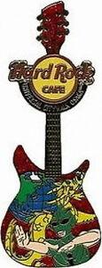 Hard-Rock-Cafe-UC-OSAKA-2006-HERO-GUITAR-w-Green-NINJA-PIN