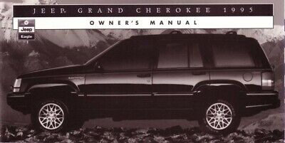 1995 Jeep Grand Cherokee Owners Manual User Guide Reference Operator Book
