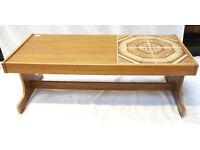retro teak coffee table - T2 Trainspotting