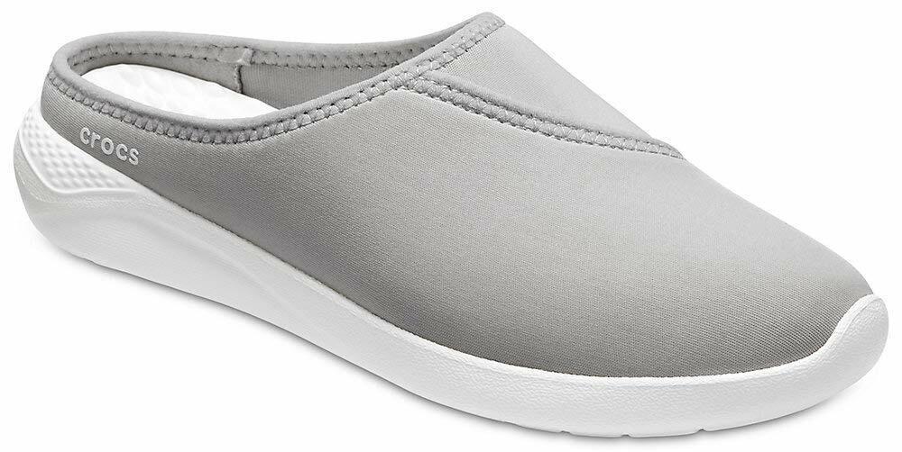 Crocs Women's LiteRide Mule 6 Light Grey/White