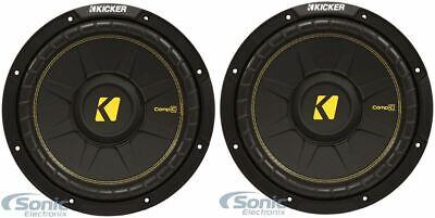(2) KICKER 44CWCS124 CompC 12