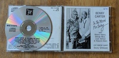 Benny Carter In The Mood For Swing CD MHS 512375M - Complete - $3