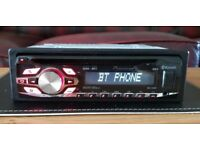 CAR HEAD UNIT PIONEER 4400BT MP3 CD PLAYER WITH BLUETOOTH USB AUX AMPLIFIER AMP STEREO RADIO BT