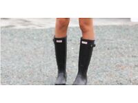 Size 7 hunter wellies great condition
