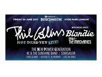 Phil Collins Hyde Park 30th June