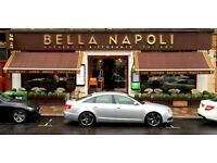 Assistant Head Chef/ Sous Chef required for Bella Napoli, in Glasgow's South Side
