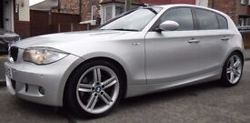 123d M-Sport 5d, Twin turbo 204BHP. Excellent Condition, FSH, MOT Oct17,Cruise, Heated Seats