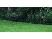 Garden border panels