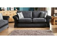 BRAND NEW DFS SOFA MODEL FULL BACK CUSHION HIGH BACK 3+2 FAST FREE DELIVERY