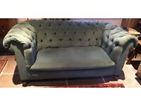 Victorian Chesterfield Sofa Two Seater