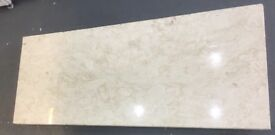 Marble fireplace Hearth in Cream