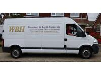 Man and Van, WBH Transport, serving Whitstable, Herne Bay, Canterbury, Faversham, London