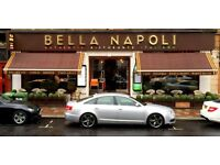 SUPERVISOR/HEAD WAITER FOR BELLA NAPOLI, GLASGOW