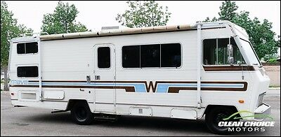 1982 WINNEBAGO BRAVE 26' CLASS A RV MOTORHOME - SLEEP 6 - RUNS GREAT - LOW MILES