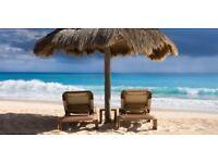 2 return flight tickets London - Cancún 05.FEB - 19.FEB