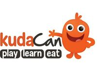 Lunchtime and weekend cafe staff sought for popular Play Cafe - Must love kids!