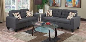 $699 - Ens. 2 pcs.   sofa + causeuse