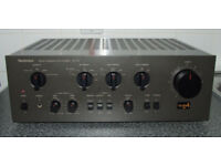 Technics SU-V6 Integrated HiFi Stereo Amplifier - High End Model - Recapped & Serviced