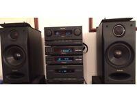 Technics SC-CH7 Bi-amp / Bi-wire speakers