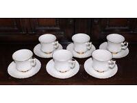 Vintage Royal Albert Bone China VAL D'OR Cup & Saucer