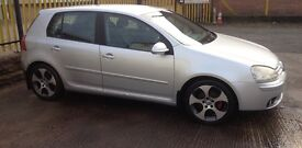VW Golf GT TDI diesel. Immaculate condition.