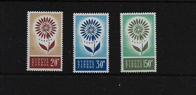 CYPRUS SG249/51, 1964 EUROPA MNH SET