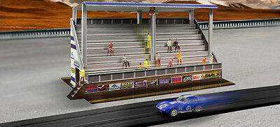 BK6431 1/64 Slot Car HO Modern Bleachers Photo Real Fits Aurora AFX race track for sale  Shipping to India