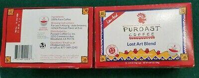PUROAST Lost Art Blend Low Acid Keurig Cups-24 cups Best by
