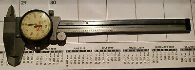 Starrett 120a-6 Dial Caliper 0-6 Stainless Steel Used Machinist Tool