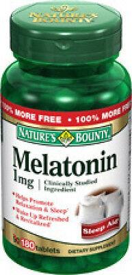 180 Melatonin 1mg Nature