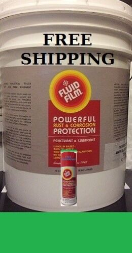 FLUID FILM PAIL NAS 5 GALLON + (1) 11.75oz. AEROSOL CAN, $171.89, FREE SHIPPING