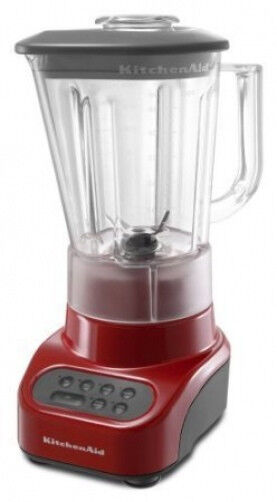 New KitchenAid Blender(MADE IN USA)Unbreakable Jar Polycarbonate Crush ice Metal