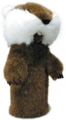Proactive Caddyshack Gopher 460cc GOLF DRIVER Head Cover - 460 Cc Driver Headcover